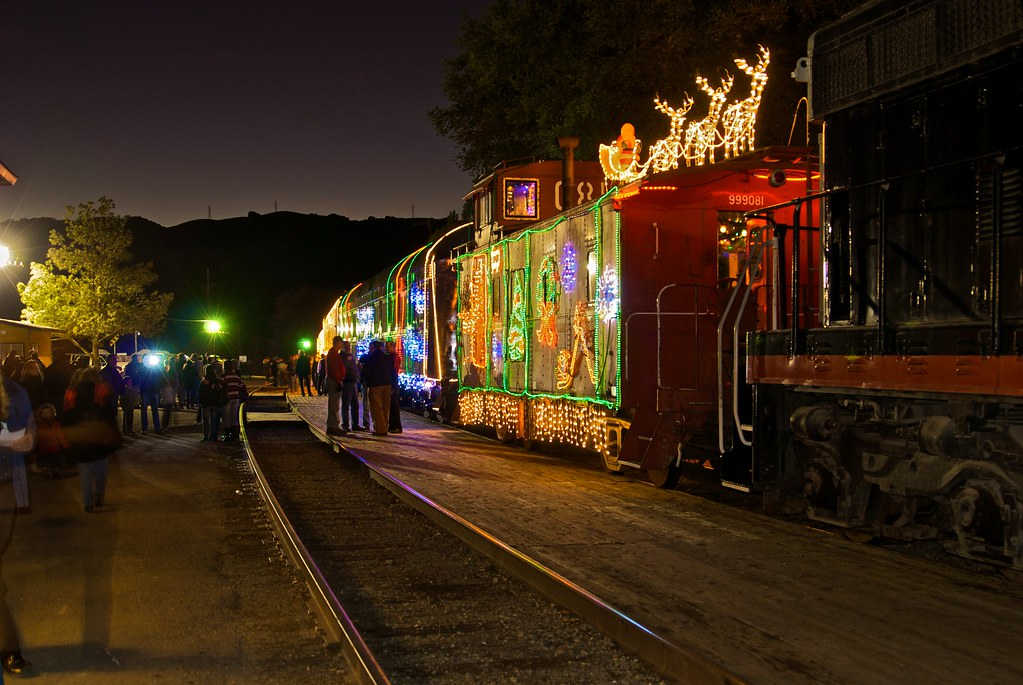 Niles Canyon Railroad Christmas Train by moyerphotos, on Flickr