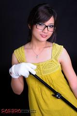 Mickey_009 (Caesda) Tags: woman beautiful beauty yellow studio model babe mickey d300 hongkongphotos beautyshoots caesda yeloowdress