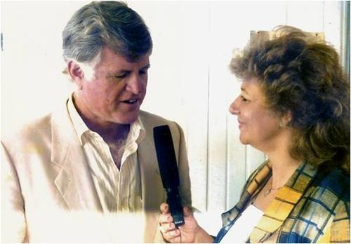 Loula Alafoyiannis interviewed the late Senator Teddy  Kennedy.