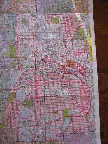 Run Minneapolis Map: December 27, 2009