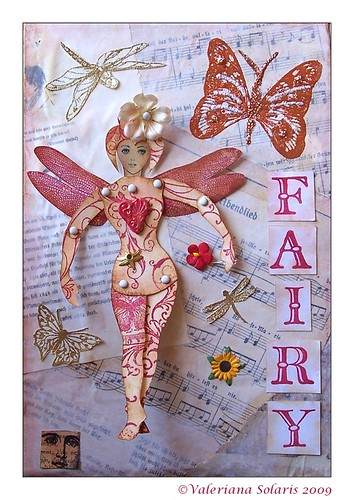 Dragonfly Fairy Collage