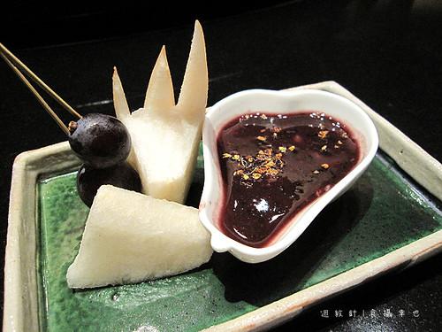 三井午間套餐甜點水果