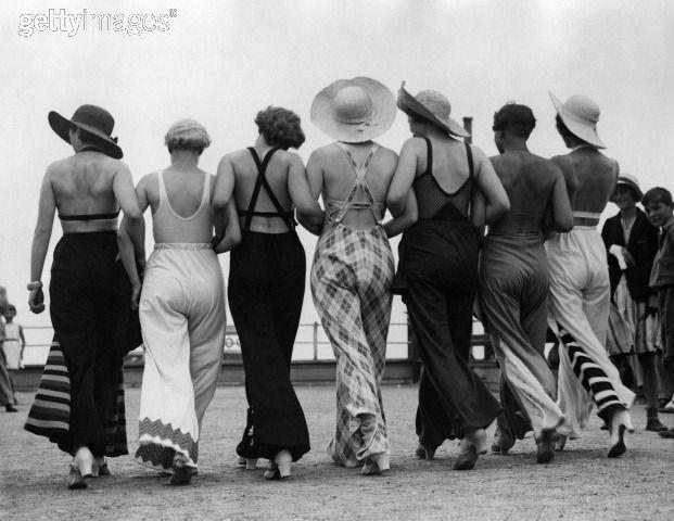1930s beach pjs again