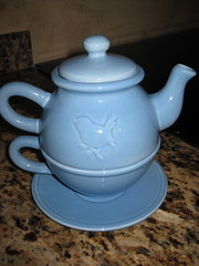 Thrift Finds:  One Person Tea Set