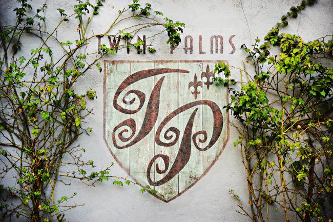 Pasadena twin palms wedding photo