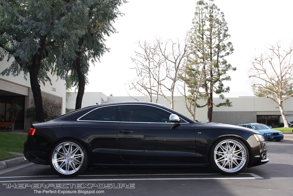 Audi A5 S5 With Custom Wheels Real Life Pictures Only