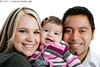 Mixed ethnic family (Christopher Futcher) Tags: family baby cute girl smile mom happy three infant dad diverse father daughter mother adorable diversity whitebackground hispanic caucasian mixedrace multiethnicgroup nikond3x multiethnicfamily