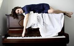 (esme-f) Tags: blue music keys dress piano