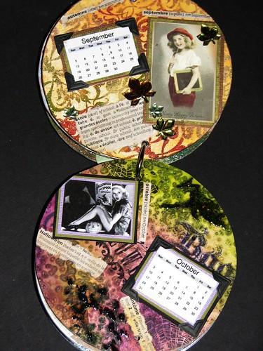 cd calendar - october 013