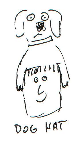 366 Cartoons - 350 - Dog Hat