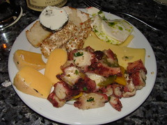 Pulpo y Queso (knightbefore_99) Tags: food art cheese mexico lunch mexican queso oaxaca octopus pickled fromage pulpo huatulco tangolunda