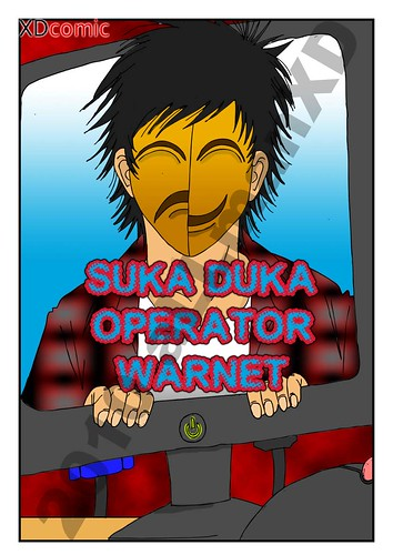 4297515336 23b90df140 Suka Duka Operator Warnet Comic Version
