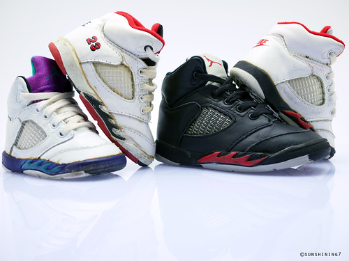 85aba76067ea Sunshining7 - Nike Air Jordan V (5) 1990 - Baby Jordan Set 2