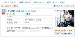 100119(2) - 水樹奈奈藉著成為日本史上第一位勇奪ORICON《單曲首週銷售No.1》的聲優!