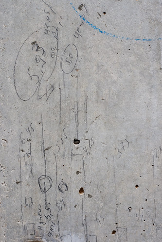 Texture: Concrete with Pencil Markings