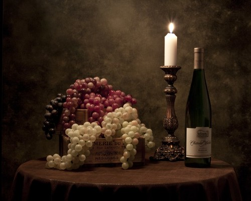 Wine Harvest Still Life