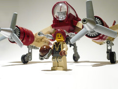 V-22 Phoenix 02 (JonHall18) Tags: plane fighter lego aircraft fantasy scifi moc skyfi dieselpunk dieselpulp