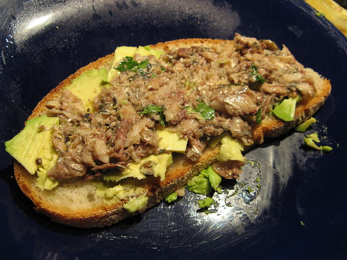 That sardine-avocado sandwich | The Girl Who Ate Everything