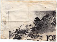 (Joseph Critchley) Tags: uk england mountain english flyer artist unitedkingdom britain yorkshire north grain leeds ripped photocopy torn british folded northern xerox westyorkshire