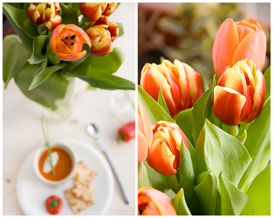 Zuppa Peperoncini dolci e Mascarpone (collage)