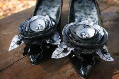 Silver Shoe Clip
