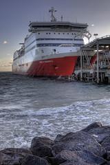 Spirit of Tasmania II (WilliamBullimore) Tags: water ferry boat rocks surf waves ship au australia melbourne victoria portmelbourne