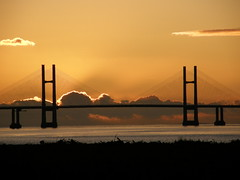 Second Severn Crossing from Aust