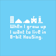 8-bit Housing (Seven_Hundred) Tags: lighthouse house tower castle skyscraper computer graphics pyramid graphic 8bit igloo whenigrowup