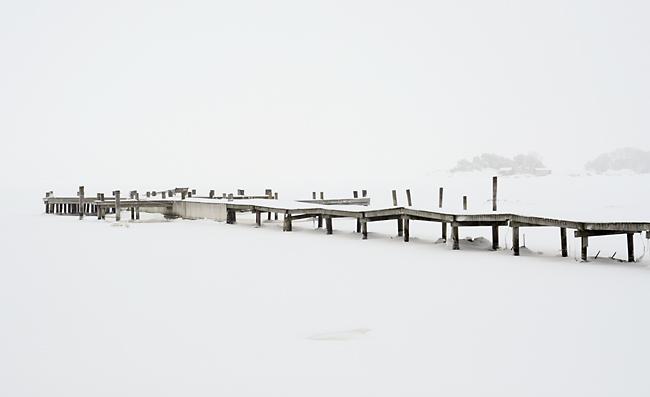 brygga i snö 3