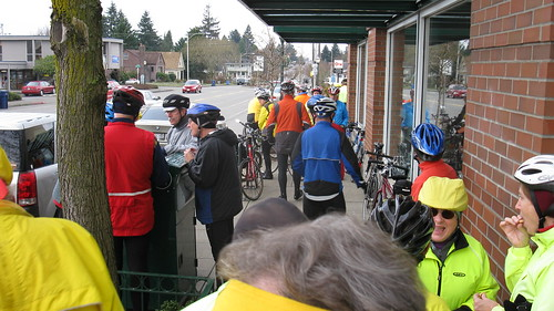 Tacoma Wheelmen Mon Hale Hearty & Ready for Coffee Ride  Feb 1st 004