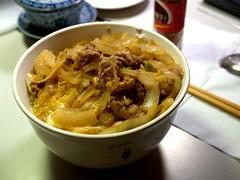 壽喜燒蓋飯