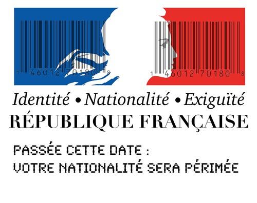 Logo Marianne RF Identité Nationale par Philogenèse