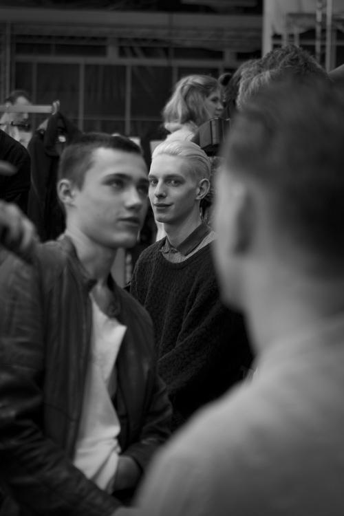 lanvin, Alber Elbaz, Lucas Ossendrijver, backstage, mannequin