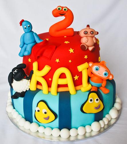 cbeebies birthday cake