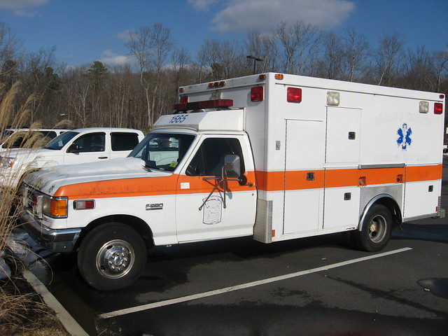 life county orange ford truck nc support 1987 north transport ambulance medical carolina 1991 ems advanced unit f350