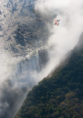 Flying over the Victoria Falls, Livingstone (Livingstone Tourism) Tags: africa travel waterfall victoriafalls microlight zam zambia livingstone vicfalls zambeziriver livingstonezambia mosiotunya