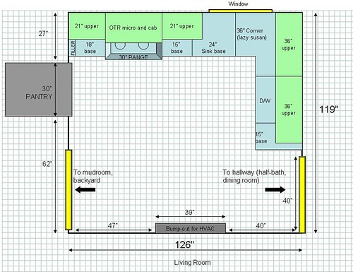 Small kitchen layout help needed - Kitchens Forum - GardenWeb