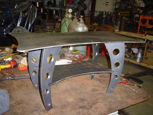 Small Steel Table