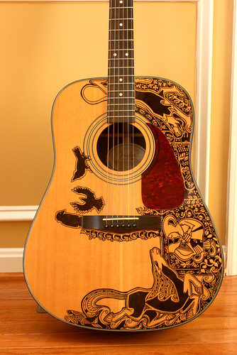 The Sharpie Guitar