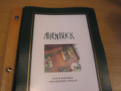 Alpenblick in Arosa