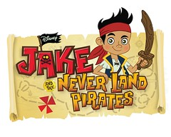 Jake and the never land pirates Logo Playhouse Disney Channel Worldewide Seriesmx
