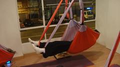 Descubre el Yoga Swing (Yoga aereo), Nuevo en Madrid!