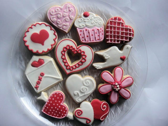 Valentines Day Cookie Platter