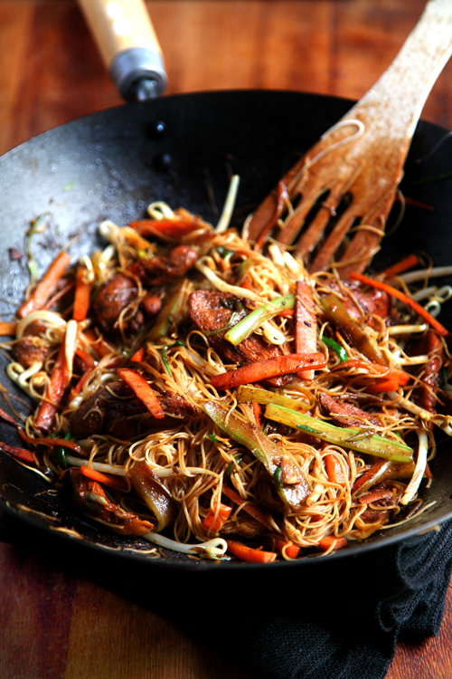 :: Healthy Singapore Noodles