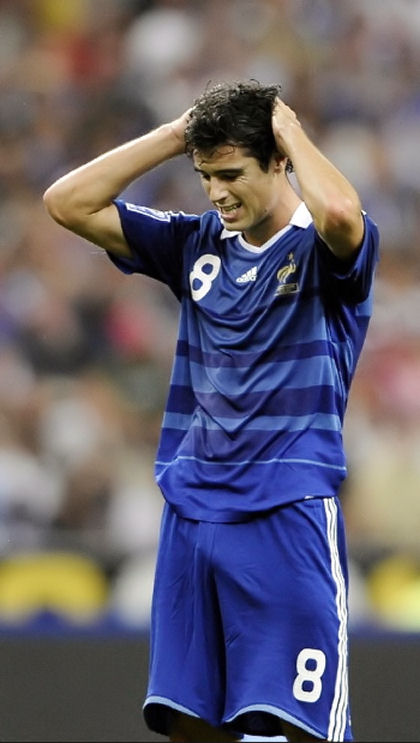 Big bulge of Yoann Gourcuff