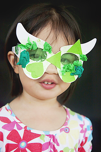 The Awesome Green Glasses