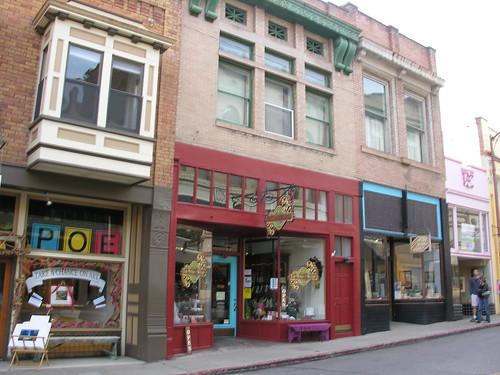 Main Street shopping - Bisbee