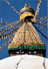 Boudhanath  (twiga269  FEMEN #JeSuisCharlie) Tags: nepal mountain montagne trekking trek climbing mountaineering kathmandu om himalaya montaa khumbu boudhanath montanha ascension alpinisme alpinism bodhnath    bouddhanath  katmandou nikoncoolscanved   andinismo   twiga269
