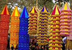 DSC_2907 copy (creative arts2009) Tags: lampshades richcolors colorfulindia surajkundhandicraftmella