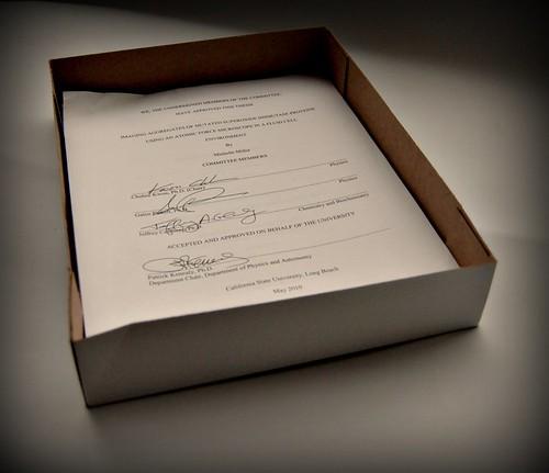 thesis signatures
